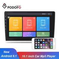 Podofo Android 8,1 coche Multimedia Player 10,1