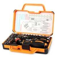 JAKEMY JM-6111 69 en 1 destornillador multi instrumentos hogar herramienta caja de herramienta de mano juego de reparación para iphone electrodomésticos
