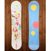 2017 invierno de 120 cm snowboard cubierta niño esquís placa Cubierta niños esquí 1 piezas de placa única cubierta profesional niño snowboard