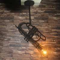 LOFT retro industrial viento hierro saxo candelabro restaurante Café bar antiguo personalidad creativa candelabro Loft Retro lámparas