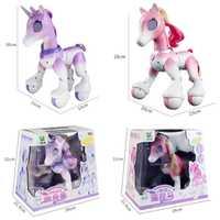 Eléctrico inteligente unicornio caballo de juguete para niños de Control remoto de los niños nuevo Robot táctil inducción mascota electrónica juguete educativo