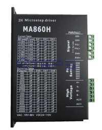 CNC controlador de motor paso a paso MA860H 24-110VDC 256 subdivisión reemplazar leadshine MA860H 2 Fase 18-80VAC 7.2A