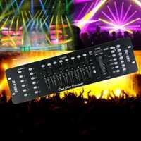 Actualizado 192ch 240 escenas DMX 512 controlador DJ láser con cuello de cisne LED para escenario Iluminación DJ equipo