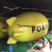 Dirigeable gonflable avion Zeppelin gonflable publicité dirigeable pour événements PVC haute qualité promotionnel hélium dirigeable ballon