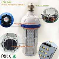 Shenzhen super potencia SMD 2835 luz del maíz para la calle/jardín/exterior 10000lm 80 W 100 W 120 W lámparas de bulbo de maíz LED E39 E40 luz LED
