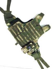 Nueva ciras táctico Heavy Duty Tactical combat ARMOR chaleco atacs/FG