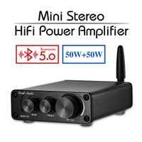 2019 Nobsound Mini TPA3116 Bluetooth 5.0 HiFi amplificateurs de puissance stéréo maison Audio numérique amplificateur de son avec des basses aigus