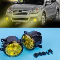 Lámpara de luz antiniebla LED resaltada cicall 33900-T0A-A01 2X con lente amarilla para Ford Focus Acura Subaru Mitsubishi Nissan FIAT Suzuki
