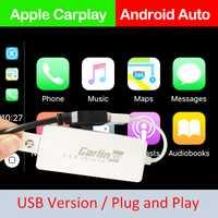 Carlinkit USB Smart Link Apple CarPlay Dongle pour Android Navigation Lecteur Mini USB Carplay Bâton avec Android Auto