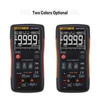 Multímetro Digital ANENG Q1 9999 cuentas verdadero RMS Auto/rango Manual AC/DC Volt Amp Ohm capacitancia temperatura probador