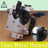 3D Matalchok 3D piezas de la impresora E3D Titan AQUA de enfriamiento de agua extrusora para 1,75mm Reprap MK8 Anet a8 Cr-10 salida hotend más allá de Aero