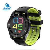 Smart Bluetooth SIM TF Tarjeta de ritmo cardíaco podómetro fitness Monitores récord sedentary recordar reloj para Android ios