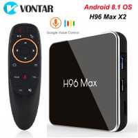 H96 MAX X2 Android TV Box 8.1 4 GB 64 GB S905X2 1080 P H.265 4 K Google Play Store Netflix Youtube H96MAX Smart TV box lecteur multimédia