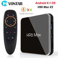 H96 MAX X2 Android TV Box 9.0 4GB 64GB S905X2 1080P H.265 4K Google Store Netflix Youtube H96MAX 2G16G Smart TV box Android 8.1