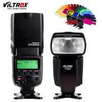 VILTROX JY-680A Universel Caméra LCD Flash Speedlite pour Canon 1300D 1200D 760D 750D 80D 5D IV 7D Nikon 7200D 5500D 5D 610D 750D