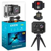 EKEN H6s acción Cámara 4 K 30fps Video WIFI 14MP Ultra HD con A12 Chip impermeable 30 M a Mini cámara de viaje Pro deporte