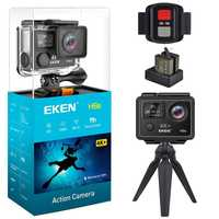 EKEN H6s acción Cámara 4 K 30fps Video WIFI 14MP Ultra HD con A12 Chip impermeable 30 M a Mini cámara de viaje Pro deporte