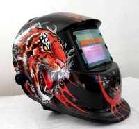Envío libre Solar Auto oscurecimiento TIG MIG MMA soldadura máscara/casco/soldador tapa/máscara facial