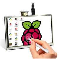 Elecrow LCD de 5 pulgadas Raspberry Pi 3 pantalla táctil HDMI 800x480 de 5
