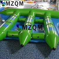 Mzqm envío libre 6 personas utilizan pez volador inflable Banana Boat en venta