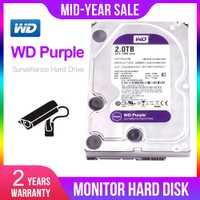 Western Digital WD Purple 500G 1 TB 2 TB 3 TB 4 TB SATA 6,0 Gb/s duro de 3,5