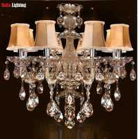 Vintage chandelier iluminación interior del envío libre contemporánea lámparas de cristal dormitorio comedor araña