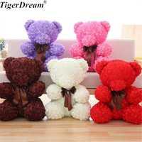 60 cm regalo del Día de San Valentín 5 colores oso Rosa grande juguetes de peluche encantador PP algodón osos de peluche dulce olor muñeca novia presente