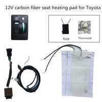 Mejor oferta promoción asientos asiento de ajuste Toyota Corolla Prado RAV4... REIZ... Yaris etc. de fibra de carbono