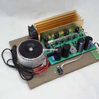 Circuito BTL de alta potencia de 500 W, amplificador de potencia de graves pesados, tablero de DJ, AMPLIFICADOR DE POTENCIA DE bajo puro