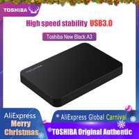 Toshiba SSD disco duro portátil 1TB 2TB envío gratis portátiles disco duro Externo 1TB Disque dur Externo USB3.0 HDD 2,5 disco duro