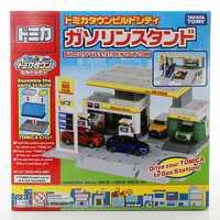 Takara Tomy Tomica ciudad construir ciudad serie escenas accesorios bloques de Gas estación coches