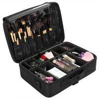 Bolsa de maquillaje de alta calidad, Organizador Profesional, bolsa de maquillaje, bolsa de cosméticos, bolsa de almacenamiento de gran capacidad, caja de herramientas de arte