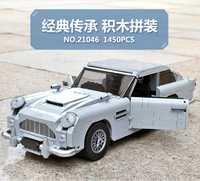 2018 nuevo Creador James Bond famoso coche Aston Martin DB5 técnica modelo Compatible con Legoings ladrillos bloques de construcción de Juguetes