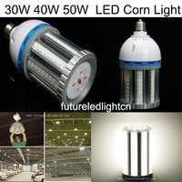 30 W/40 W/50 W/60 W E27 E40 smd5730 bulbo del maíz LED luz del maíz buld Lámparas garantizado 100%