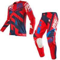 Traje de Motocross de carreras 360 División MX MTB Racing conjunto completo Jersey pantalones Combo MX ATV jersey 3 colores
