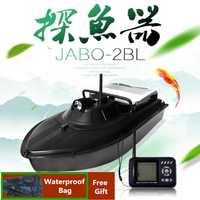Bolsa gratis RC barco de pesca juguetes Sonar detector de peces JABO-2BL JABO 2BL buscador de peces barco suministros de pesca cebo barco VS Jabo 5A 5CG