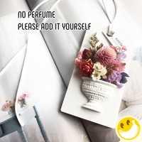 Inmortalizado Flor de yeso accesorios de estilo coche perfume colgante olor Natural ambientador fragancia ambientador