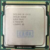 Procesador Intel Xeon X3470 Quad-Core LGA1156 de la computadora de la PC de escritorio CPU 100% funciona correctamente servidor de escritorio procesador CPU X3470