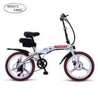 Doble freno de disco de bicicleta eléctrica de 20 pulgadas de la ciudad de bicicleta eléctrica de la batería de litio de la bicicleta 36V250W 8AH ebike damas entrega gratuita