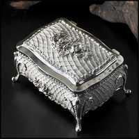 Nuevo colorido estaño estilo europeo princesshexagram de alta joyería caja de almacenamiento Caja de Regalos