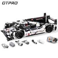 1586 pièces Super Sport voiture vitesse Champions ville MOC créateur bloc de construction briques bricolage jouets pour enfants CADA Mobile legoing Technic