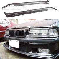 E36 carbono Fibra coche faro eyelid cejas tapa Etiqueta de ajuste para BMW E36 1990-2000