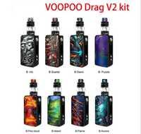 VOOPOO arrastrar 2 Caja Mod 5 ml Uforce T2 tanque Uforce U2 N3 bobina 177 W Max salida cigarrillo electrónico del Voopoo arrastrar Mini