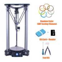 Impresora 3D asequible en China multifuncional impresora Digital inteligente nivelación Metal Kossel DIY Delta 3D Kit de impresora