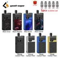 Le plus nouveau Kit de Cigarette électronique GeekVape Frenzy Kit système de dosette avec 2 ml cartouche 950 mAh Vape Pod frenzy kit de dosette
