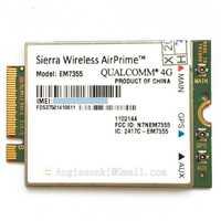 Quad-Band EM7355 Gobi 5000 100 Mbps HSPA + LTE 4G módulo para Sierra Wireless AirPrime tarjeta WWAN para AT & T