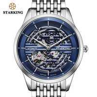 STARKING AAA montre automatique hommes de luxe marque saphir cristal 28800 haute battement mouvement mécanicien montre hommes 50M étanche AM0282