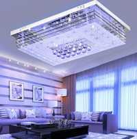 Iluminación de techo colorida LED lámpara de techo 4 colores LED lámpara de techo para sala de estar dormitorio con control remoto 220 V sólo