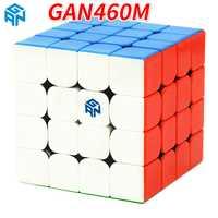 GAN460 M 4*4*4 magnétique professionnel vitesse magique Cube GAN 460 éducatif 4x4x4 Puzzle jouets pour enfants apprenant Cubo jouets magiques