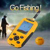 Findfish inteligente portátil buscador de peces con inalámbrico Sonar Sensor eco sirena para el lago de Pesca de Mar buscadores inalámbrico pesca Gps